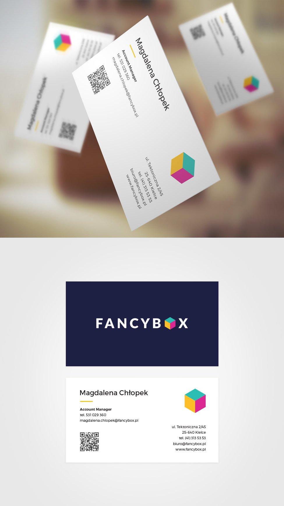 Wizytówka fancybox.pl