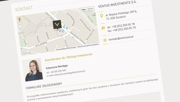 Ventus Investments S.A.