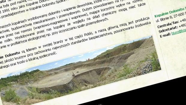 Kopalnie Dolomitu S.A.