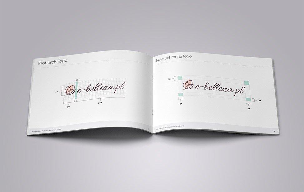 E-Belleza – Identyfikacja wizualna