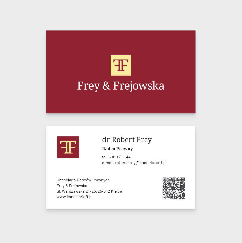 Kancelaria F&F – Identyfikacja wizualna