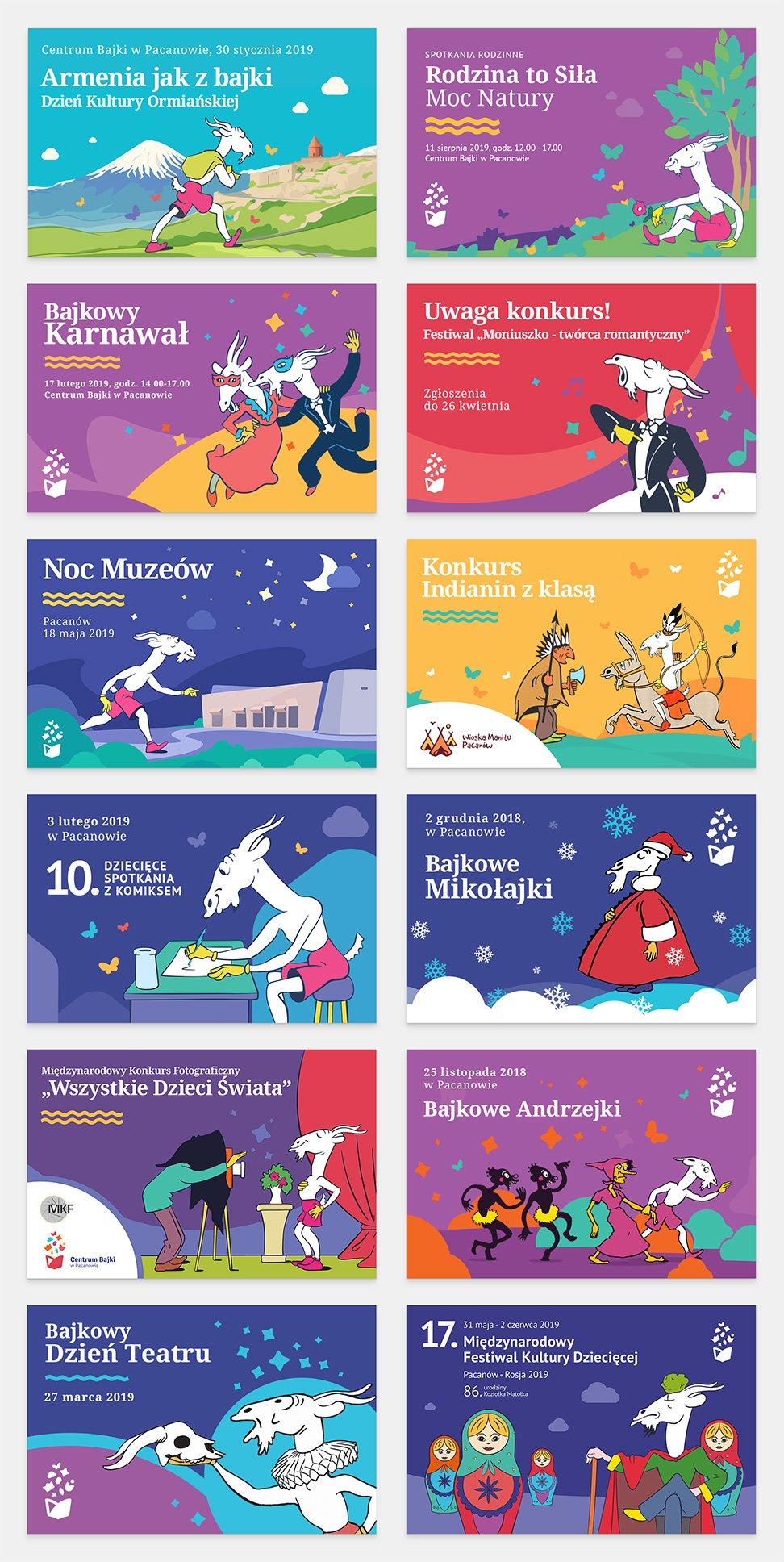 Europejskiego Centrum Bajki – grafiki