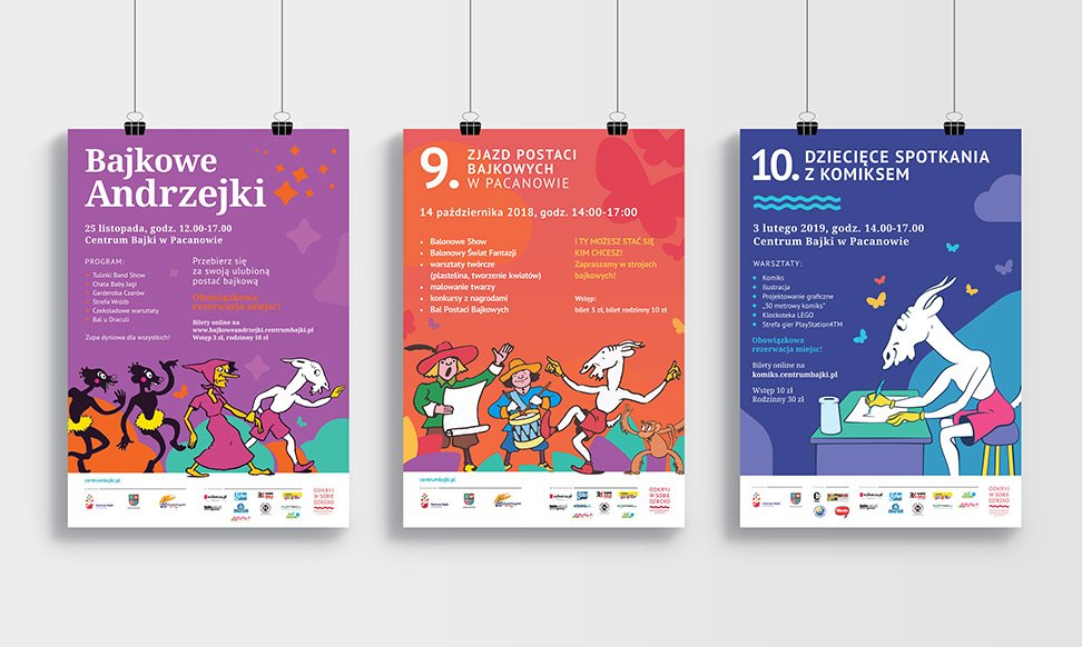 Europejskie Centrum Bajki – plakaty