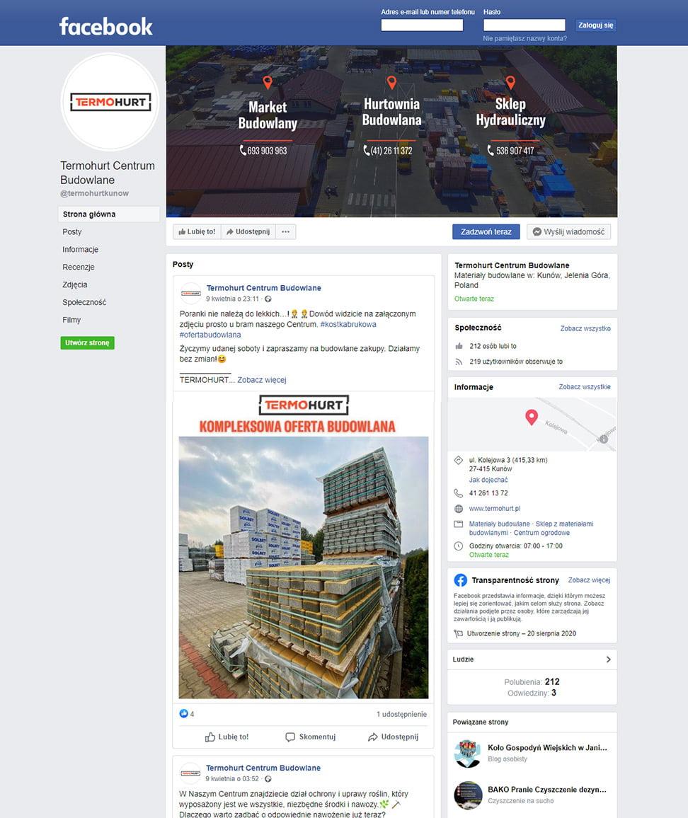 Termohurt – Facebook