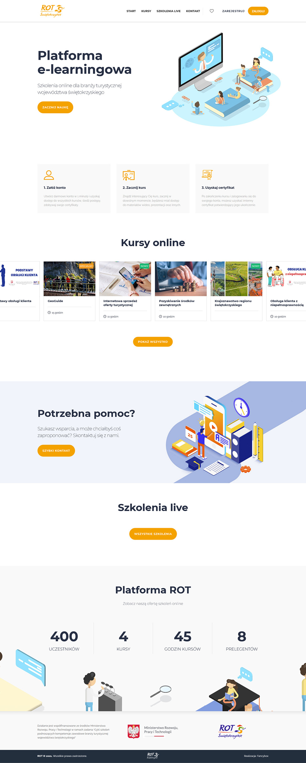 Platforma e-learningowa ROT